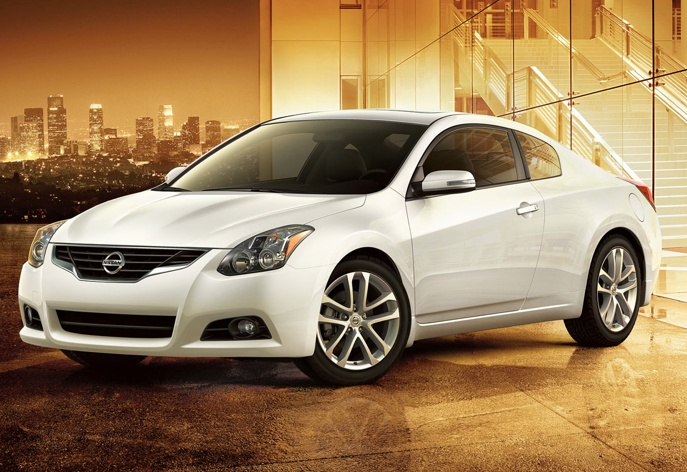 """2011 Nissan Altima Coupe. This is my """"no longer need a mama van"""" car! I. love. it."""