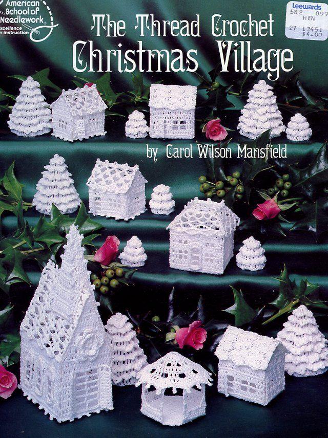 the_thread_crochet_christmas_village