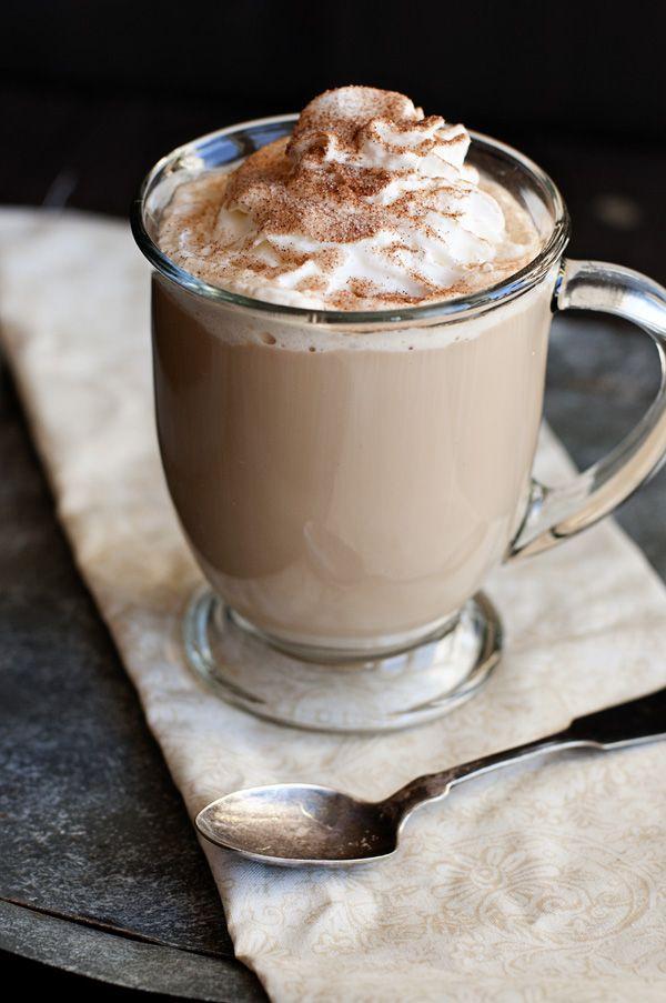 Cinnamon Spiced Cafe Latte ~ http://dineanddish.net/2012/12/cinnamon-spiced-cafe-latte-eagle-brand-holiday-gift-basket-giveaway-250-arv/
