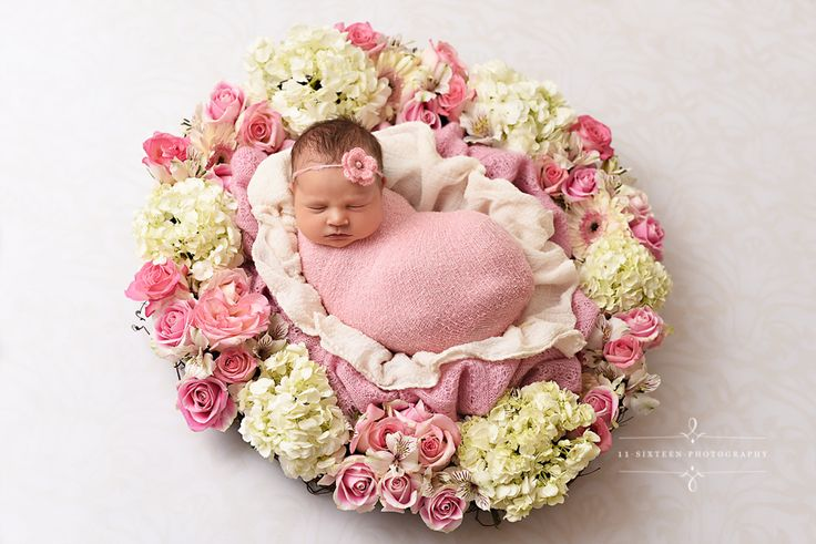 Pink Stretch Knit Wrap Newborn Photography | Beautiful Photo Props