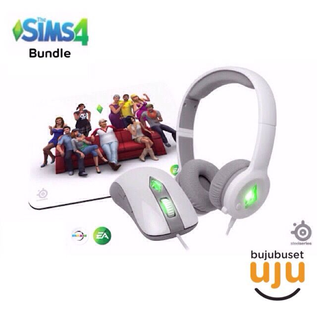 Steelseries - The Sims 4 Bundle (Mouse, Mousepad and Headset)  IDR 1.199.999