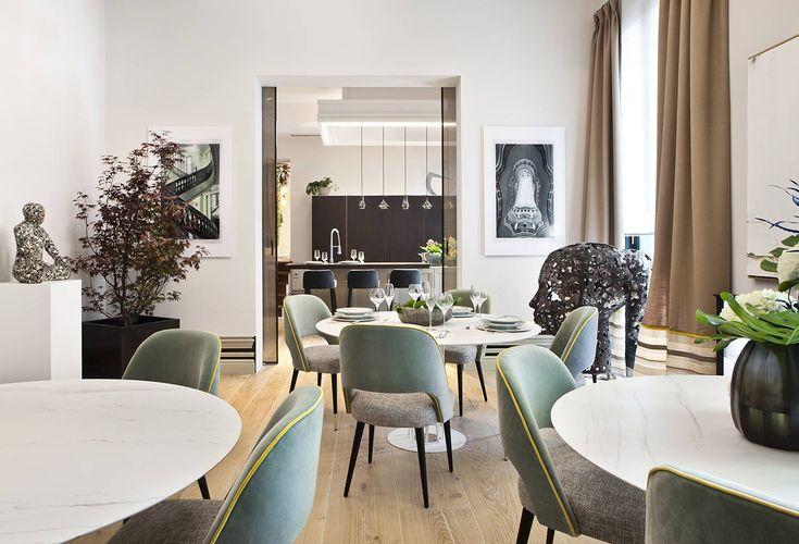 Un escenario muy creativo, que no deja de lado la elegancia. #details #deco #interiordesign #arquitectura #decoracion #homedecor