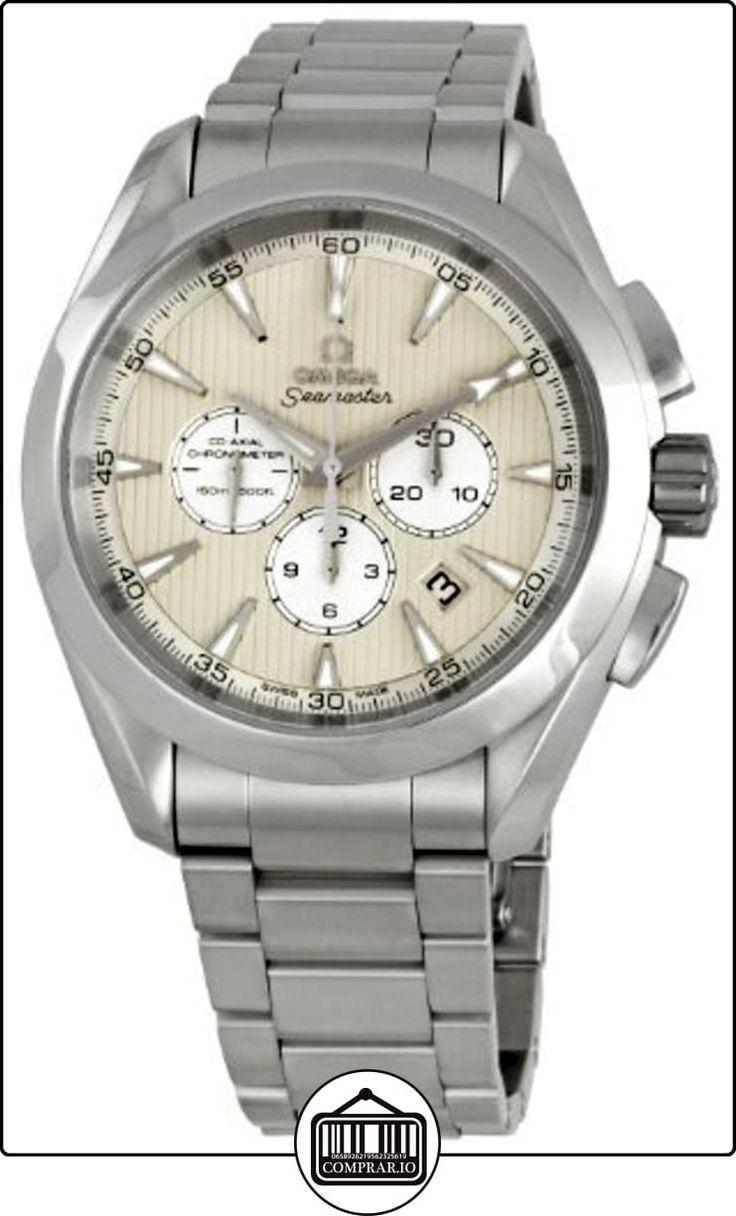Omega 231.10.44.50.09.001del hombre Seamaster Aqua Terra cronógrafo reloj por Omega de  ✿ Relojes para hombre - (Lujo) ✿