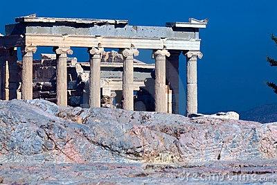 Antic temple Erechteion, Acropolis, Athens by Rostislav Ageev, via Dreamstime