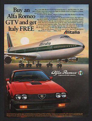 17 best images about alfa romeo publ ads sales brochures press print on pinterest cars. Black Bedroom Furniture Sets. Home Design Ideas