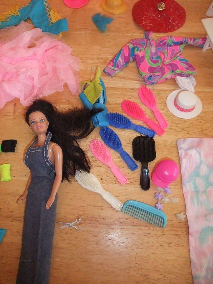 Barbie Doll & Accessories Lot 174 Pcs Camping, Bike, Barn 4 DVD's + Much More http://www.ebay.com/itm/-/162337169991?