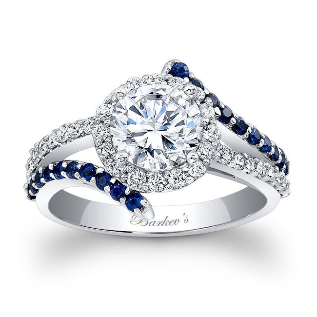 Love this ring. . .  someday ....Engagement Ring With Blue Sapphires - Engagement Ring With Blue Sapphires