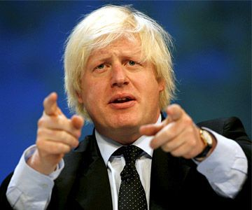 Borris Johnson is the mayor of London,he was graduated from Oxford university.