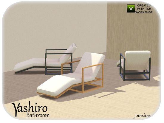 yashiro lounge chair Found in TSR Category 'Lo…