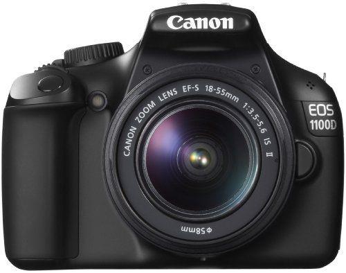 Canon EOS 1100D Fotocamera Digitale Reflex 12 Megapixel + Obiettivo EF-S 18-55mm 1:3,5-5,6 IS II Nera, http://www.amazon.it/dp/B004MKNBKU/ref=cm_sw_r_pi_awd_A5UXsb0KZ0R9W