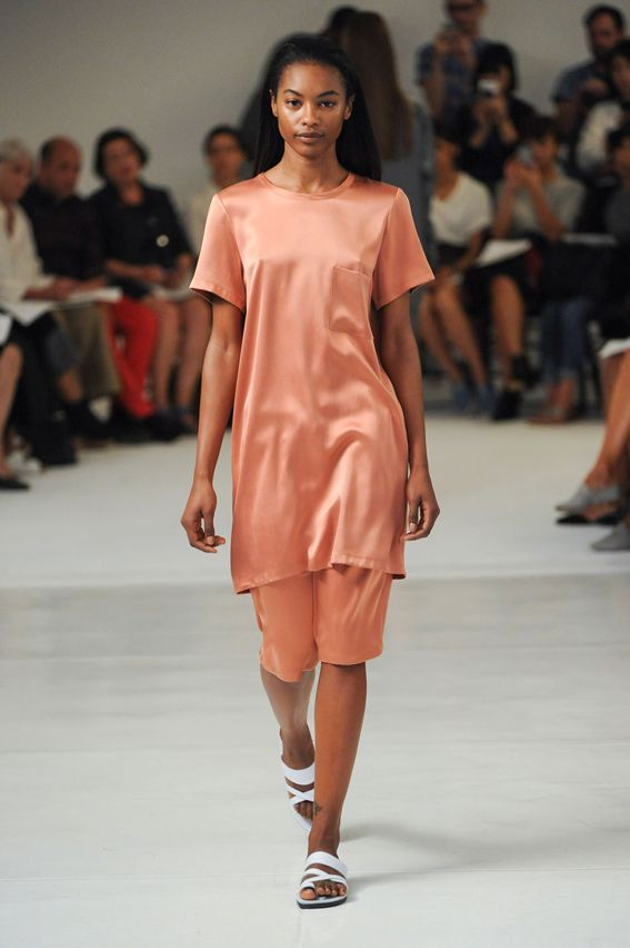 NY FW S/S 2015 Organic by John Patrick. See all fashion show at: http://www.bookmoda.com/?p=28814 #spring #summer #ss #fashionweek #catwalk #fashionshow #womansfashion #woman #fashion #style #look #collection #NY #OrganicbyJohnPatrick @jporganic