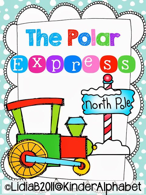 FREEBIE- The Polar Express: This is a nice activity for the last days of school. Students will have fun becoming a character in the story.