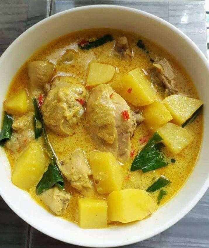 Ayam Masak Lemak Cili Padi Resep Resep Ayam Memasak Resep Makanan