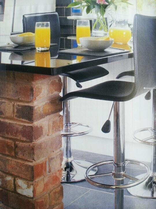 Marvelous Brick Table Leg