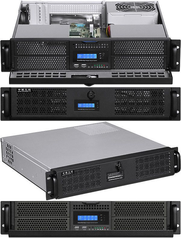 Rackmount Cases And Chassis 64061 2u 24 Rail Door Lcd 4x5 25 4x2 5 Bay Rackmount Chassis D16 93 Itx Case New Buy It Now Only 159 95 On Case Ebay Lcd