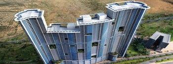 Резиденция в Ajman'e - Corniche Residence. На берегу, все квартиры вид на море. В стадии строительства, квартиры, апартаменты в рассрочку платежа, 20% первый взнос, 80% на пять лет.