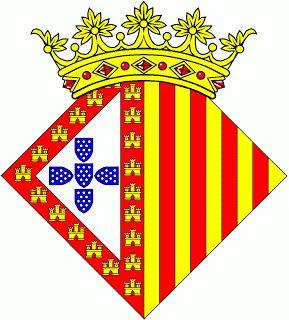 Heráldica Real Portuguesa: Armas da Rainha D. Isabel , a rainha Santa