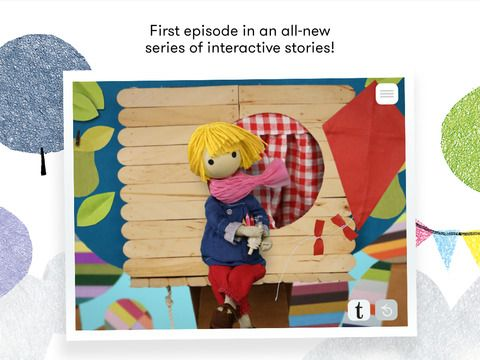 Windy & friends · Appisode 1 on iTunes · Help Windy to find her lost kite in this unique interactive story made with handmade stop-motion animation! A high-quality iTunes Editor's Choice and a #1 Kids and Education App!