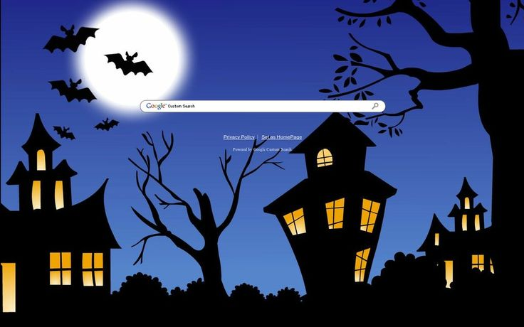 Halloween House Theme from ShinySearch