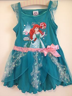 Disney's Ariel Mermaid Princess Summer Dress