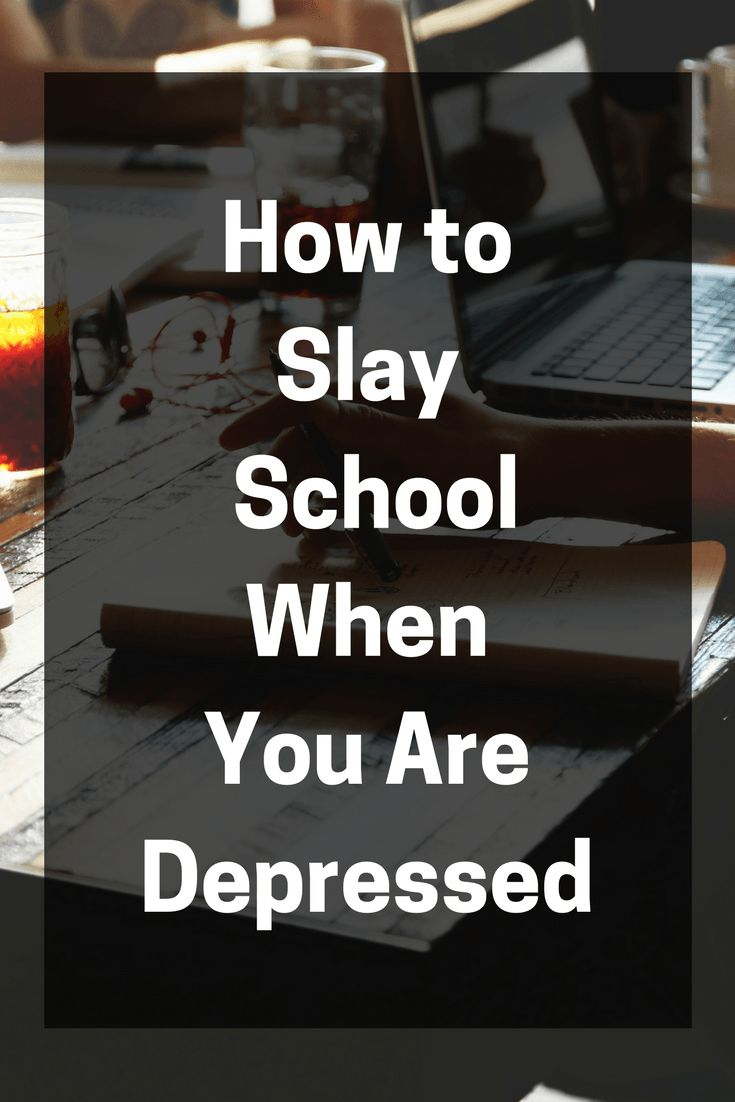 Getting through school when you are depressed can be really difficult. Here are some of the tips and tricks that helped me graduate with two degrees.