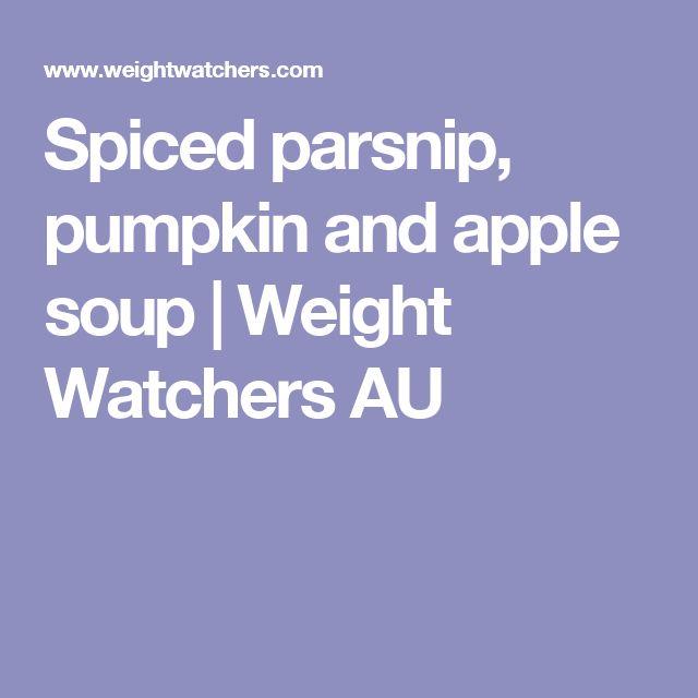 Spiced parsnip, pumpkin and apple soup | Weight Watchers AU