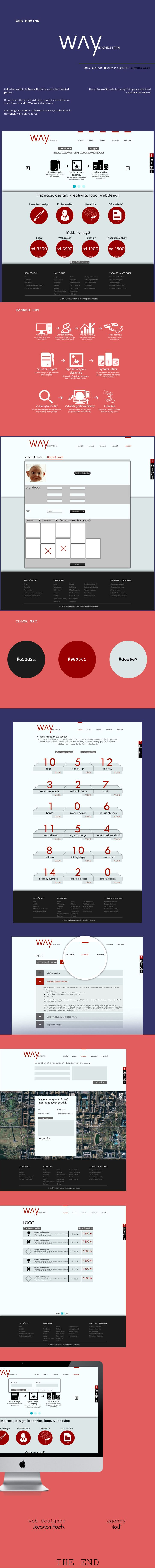 Web design Way inspiration :)