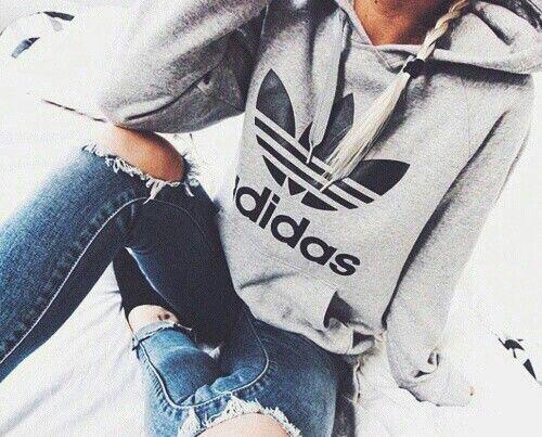would love an adidas sweatshirt