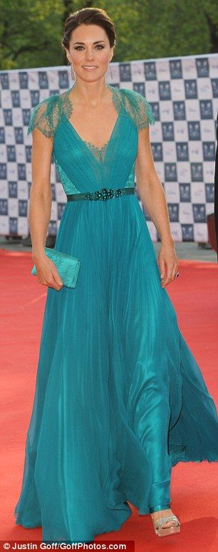 Kate Middleton: Stunning in Jenny Packham: Duchess Of Cambridge, The Duchess, Teal Dresses, Color, Kate Middleton, Duchess Kate, The Dresses, Princesses Kate, Jenny Packham