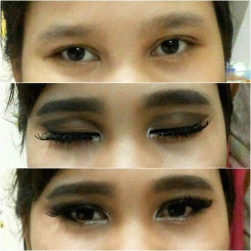 Eye make up...
