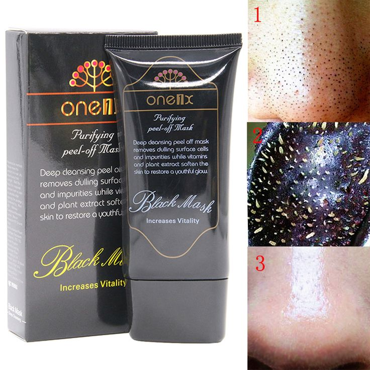 Deep Cleansing black head Acne Treatment black mask blackhead remover Facial Mask face peel off mask