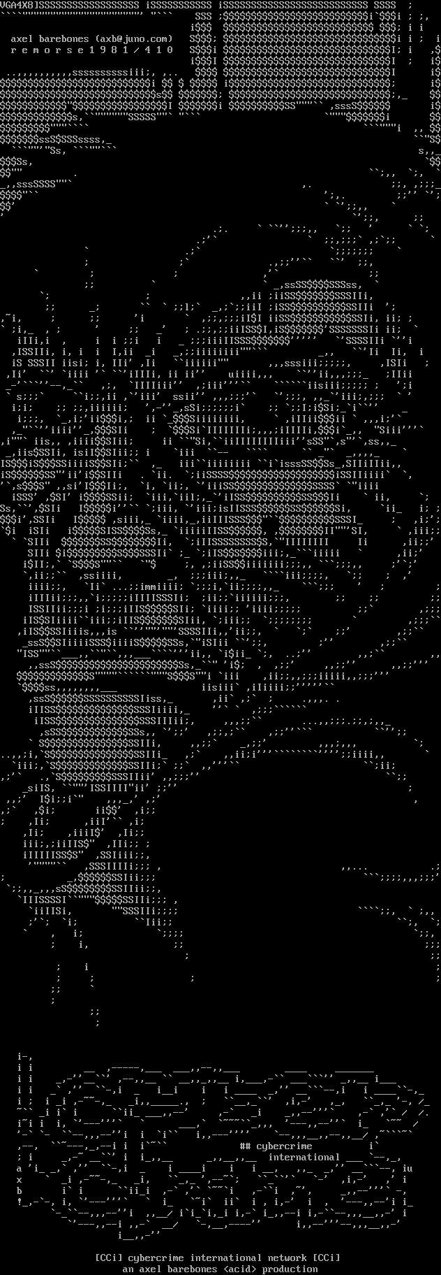 Ascii Artwork