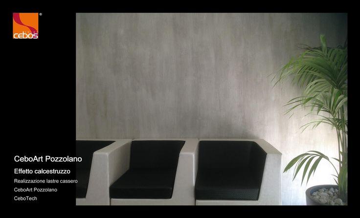 Effetto cemento sulle pareti, per uno stile industriale