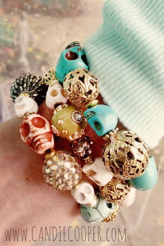 Candie Cooper Fancy Skull Bracelet