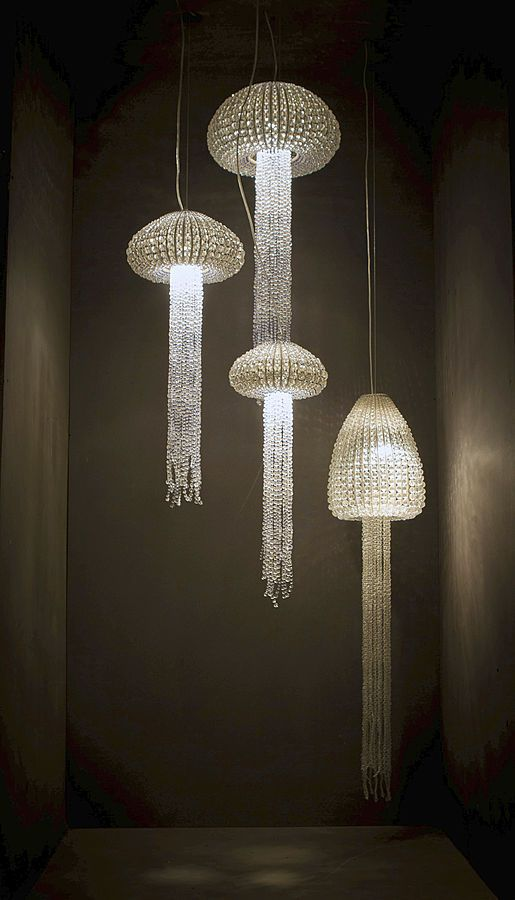 Collection ANDIL - Suspension en billes de verre & perles de verre - SPIRIDON - News et communiqués de presse