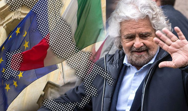 ITALY'S Five Star Movement (M5S) has surged to a three point lead in the latest election poll as the popularity of anti-establishment rhetoric continues to sweep across Europe.