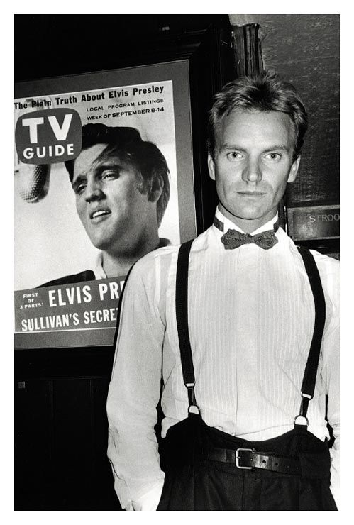 indypendentmusic: Sting, NY 1985 by Roxanne Lowit (via YOUNG GALLERY)