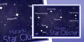 Image result for matariki constellation diagram with maori names
