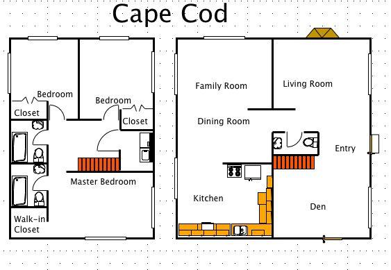 12 best cape cods images on pinterest cape cod homes for Cape cod modular floor plans