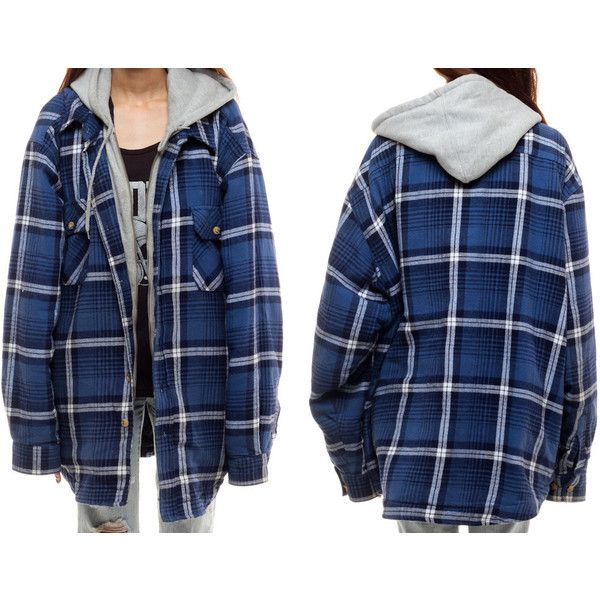 The 25  best Hooded flannel ideas on Pinterest | Flannel jacket ...