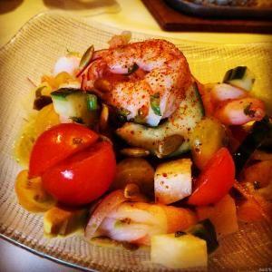 Rosa Mexicano LA Live Los Angeles Shrimp (Camarones) Ceviche
