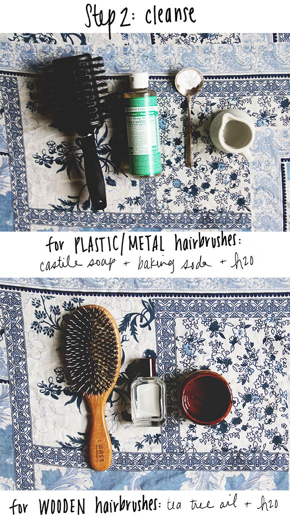 How To Clean Your Hairbrushes Naturally | Free People Blog #freepeople