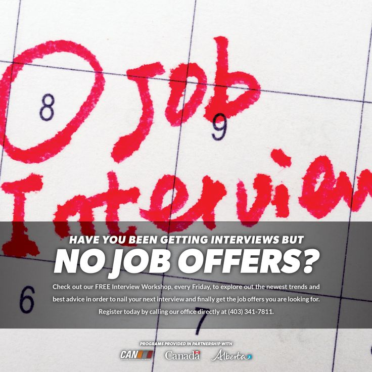 Check out our free INTERVIEW WORKSHOP (every Friday), to explore the newest trends, as well as the best advice in order to nail your next interview!  Register today by calling our office directly at 403-341-7811  #interview #changeyourcareer #rdcan