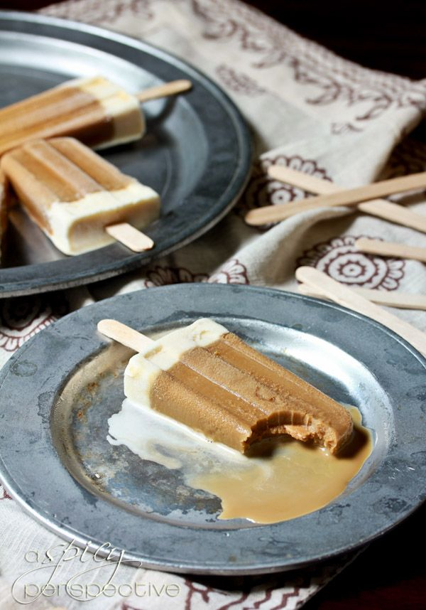 Vietnamese Iced Coffee Pops | ASpicyPerspective.com