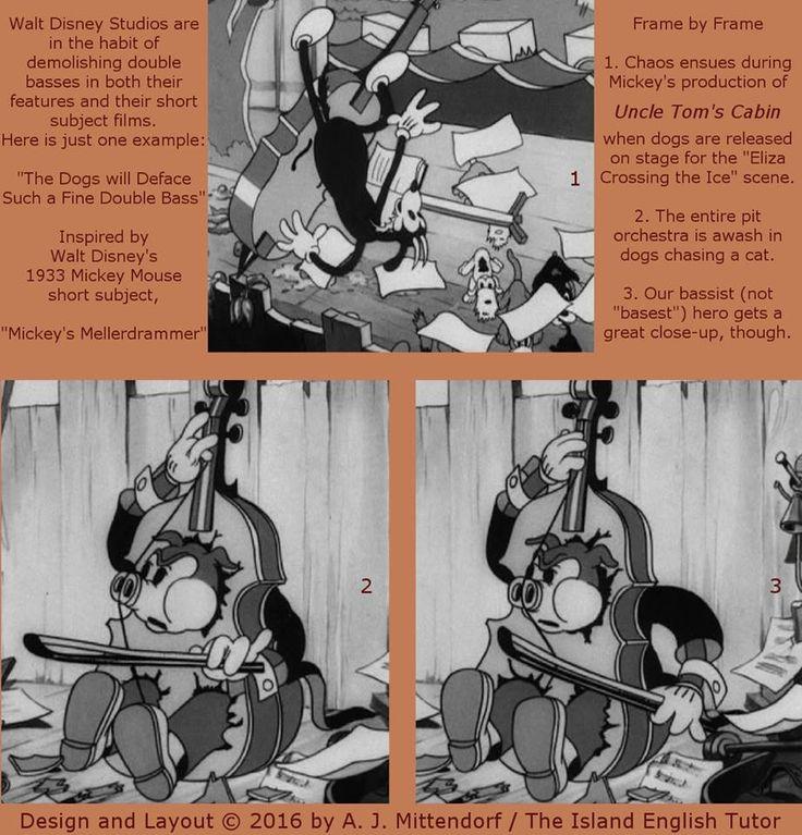 "From ""Mickey's Mellerdrammer"" (1933)."
