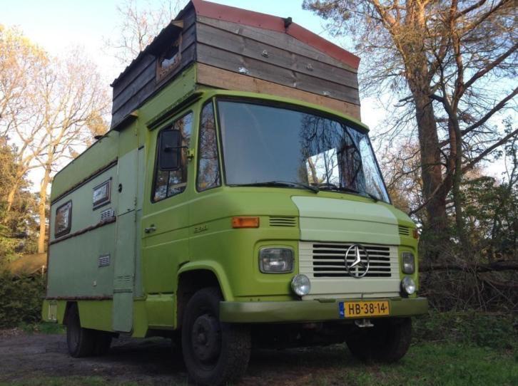 Unieke belastingvrije  Mercedes 508 (hanomag henschel)