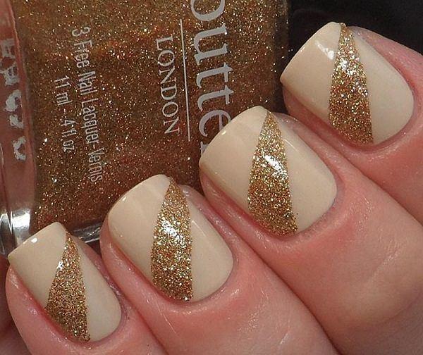 Geniales diseños de uñas doradas que te encantara tener | Cuidar de tu belleza es facilisimo.com