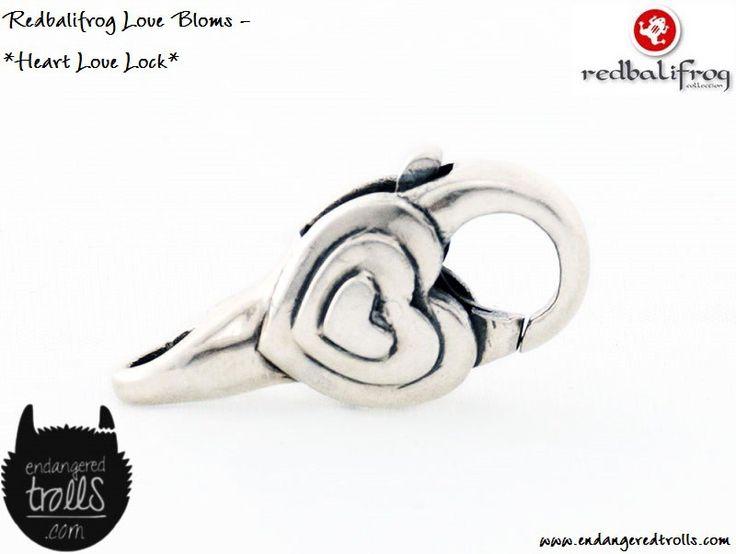 Redbalifrog Heart Love Lock