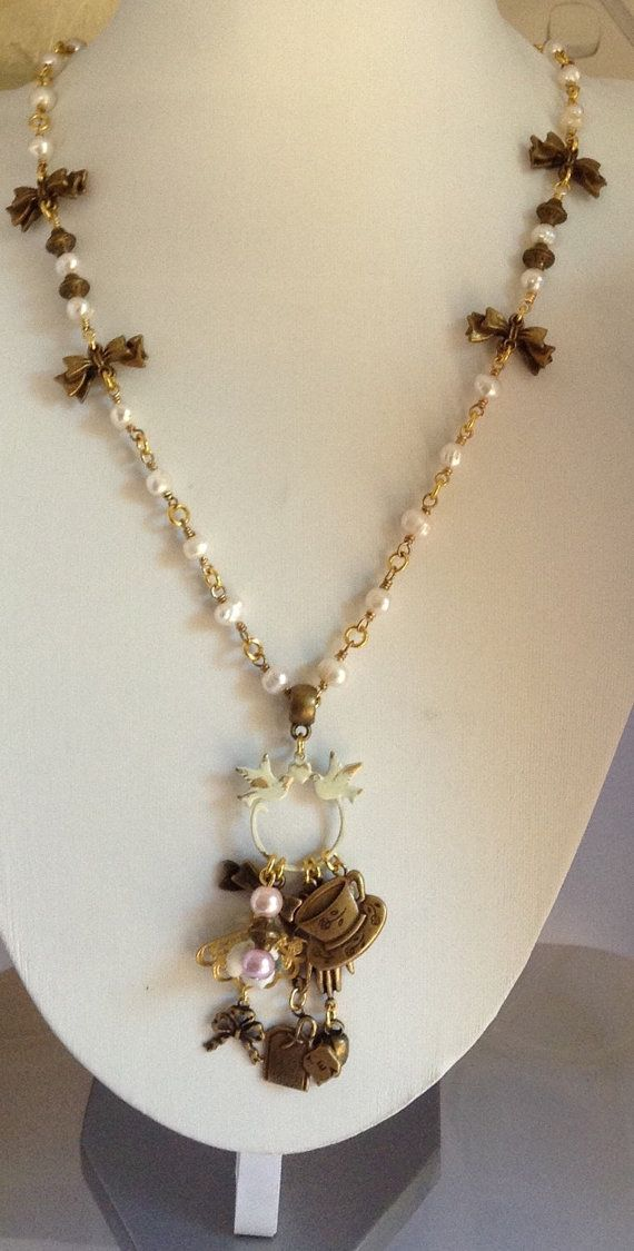 Check out this item in my Etsy shop https://www.etsy.com/au/listing/250235954/tea-time-charm-necklace