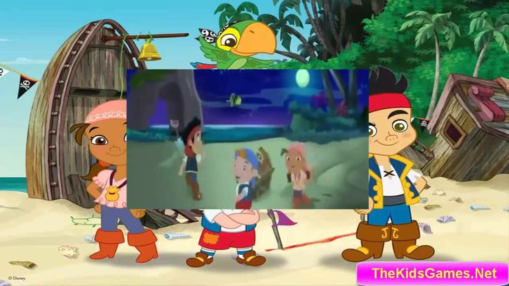 Jake and the NeverLand Pirates The Golden twilight treasure Full Episode...